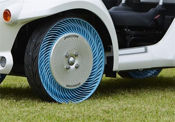 لاستیک بدون نیاز به هوا زیر خودرو های سواری